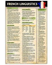 French Linguistics poster 24x36 Poster front