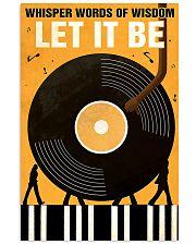 vinyls let it be  11x17 Poster front