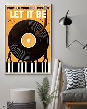 vinyls let it be  11x17 Poster lifestyle-poster-1