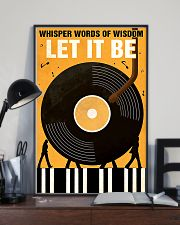 vinyls let it be  11x17 Poster lifestyle-poster-2