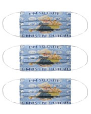 so cute be dutch girl mas Cloth Face Mask - 3 Pack front