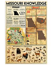 Missouri Knowledge 11x17 Poster front