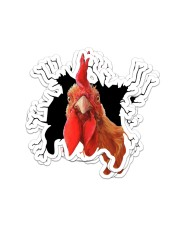 chicken crack sticker Sticker - 6 pack (Vertical) front