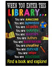 Library-enter-reader 11x17 Poster front