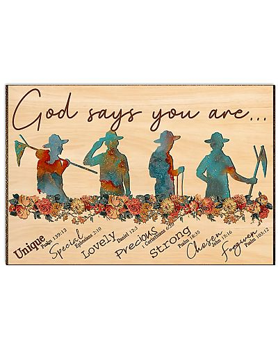 scout god says you are poster