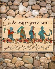 scout god says you are poster 17x11 Poster poster-landscape-17x11-lifestyle-15