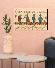 scout god says you are poster 17x11 Poster poster-landscape-17x11-lifestyle-21