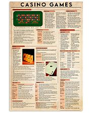 Casino Games poster 24x36 Poster front