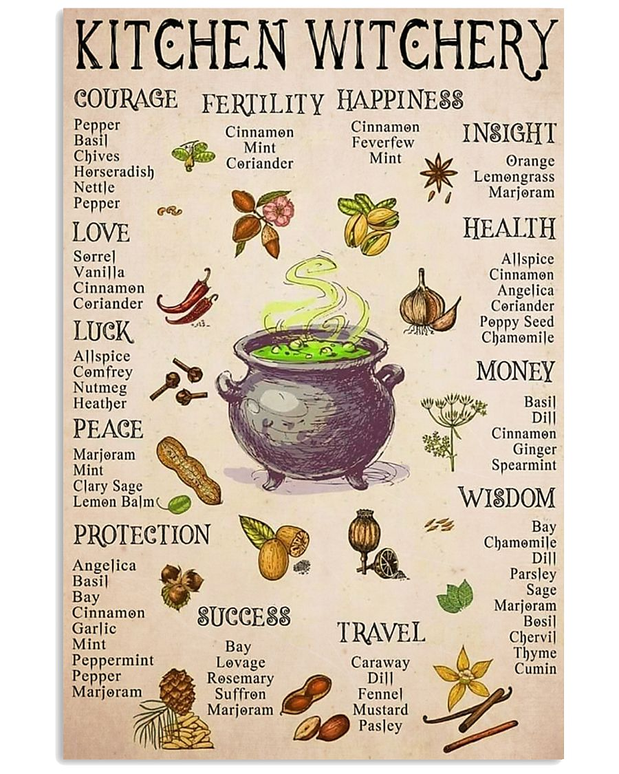 kitchen witchery 11x17 Poster