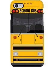 school bus front pc-lqt-nna Phone Case i-phone-8-case