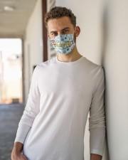Secretary I am mas Cloth Face Mask - 3 Pack aos-face-mask-lifestyle-10