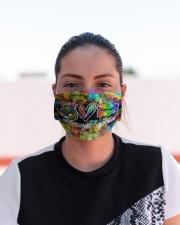 autism peace love mas Cloth Face Mask - 3 Pack aos-face-mask-lifestyle-03