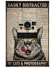 Cats photography easily distracted pt dvhh ngt 11x17 Poster front