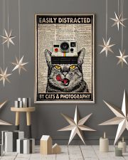 Cats photography easily distracted pt dvhh ngt 11x17 Poster lifestyle-holiday-poster-1
