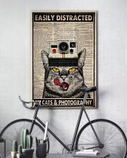 Cats photography easily distracted pt dvhh ngt 11x17 Poster lifestyle-poster-7