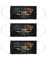one nation under god american mas  Cloth Face Mask - 3 Pack front