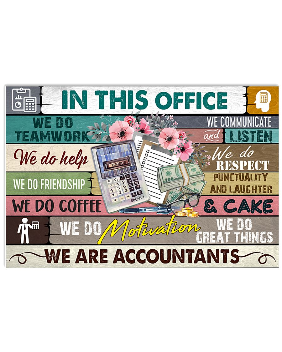 this-office-accountant 17x11 Poster