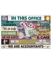 this-office-accountant 17x11 Poster front