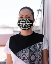 sign language talk about you mas Cloth Face Mask - 3 Pack aos-face-mask-lifestyle-04