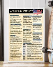 Accounting cheat sheet USA 1 poster 24x36 Poster lifestyle-poster-4