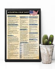 Accounting cheat sheet USA 1 poster 24x36 Poster lifestyle-poster-8