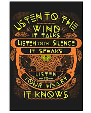 Native America Listen 11x17 Poster front