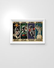 Astronaut be strong brave humble pt mttn-ngt 24x16 Poster poster-landscape-24x16-lifestyle-02