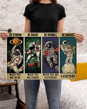 Astronaut be strong brave humble pt mttn-ngt 24x16 Poster poster-landscape-24x16-lifestyle-20