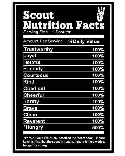 scout nutrition facts