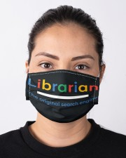 librarian original engine mas Cloth Face Mask - 3 Pack aos-face-mask-lifestyle-01