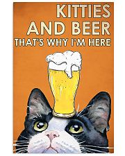 kitties beer 11x17 Poster front