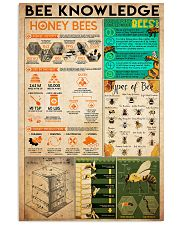 1bee knowledge  24x36 Poster front