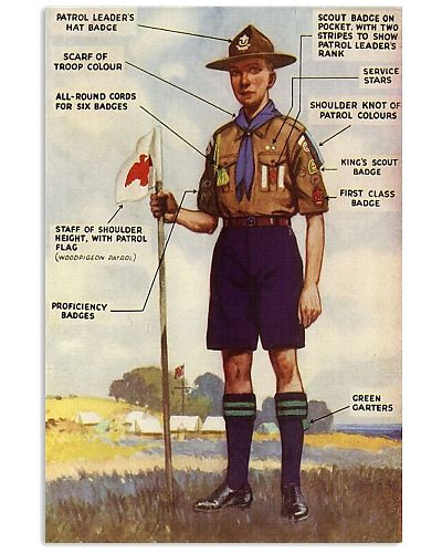 scout uniform anatomy