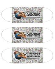 Laboratory Scientist vintage mas  Cloth Face Mask - 3 Pack front