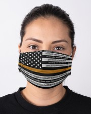 Dispatcher pray us flag mas Cloth Face Mask - 3 Pack aos-face-mask-lifestyle-01
