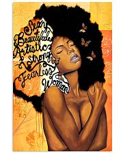 Black Woman fearless   11x17 Poster front
