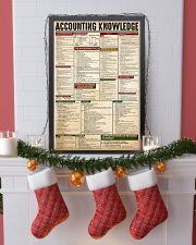 accounting knowledge  24x36 Poster lifestyle-holiday-poster-4