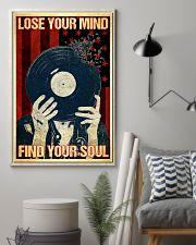 Vinyl Records Lose Your Mind 11x17 Poster lifestyle-poster-1