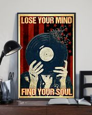 Vinyl Records Lose Your Mind 11x17 Poster lifestyle-poster-2
