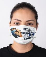 pennsylvania girl talk loud mas  Cloth Face Mask - 3 Pack aos-face-mask-lifestyle-01