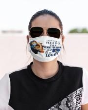 pennsylvania girl talk loud mas  Cloth Face Mask - 3 Pack aos-face-mask-lifestyle-02