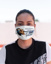 pennsylvania girl talk loud mas  Cloth Face Mask - 3 Pack aos-face-mask-lifestyle-03