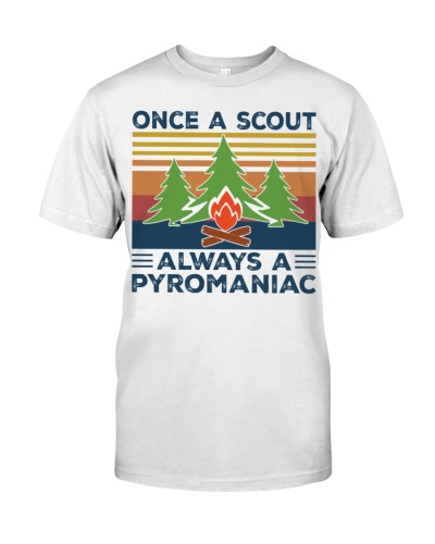 scouting once a scout