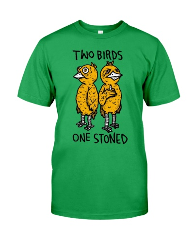 two birds one stoned