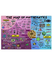 map of mathematics1 17x11 Poster front