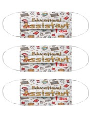 Educational Assistant I am mas  Cloth Face Mask - 3 Pack front