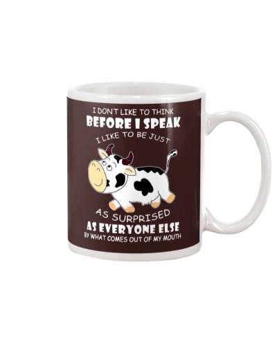 cow think before i speak