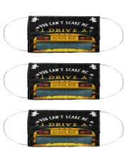 school bus driver can't scare me mas Cloth Face Mask - 3 Pack front