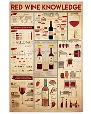 red-wine-knowledge 11x17 Poster front