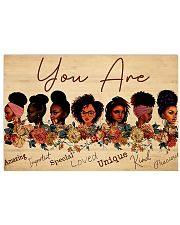 Black Girls amzing poster 17x11 Poster front